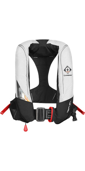 2019 Crewsaver Crewfit 180N Pro Automatic Harness Lifejacket White / Red 9025WRA