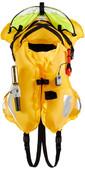 2021 Crewsaver Ergofit 190N Offshore Auto Harness Light Hood Lifejacket 9125-BKAP