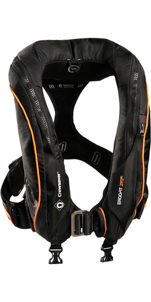 2019 Crewsaver Ergofit 290N Ocean Hammar Lifejacket + Harness + Light +Hood 9135BKHP