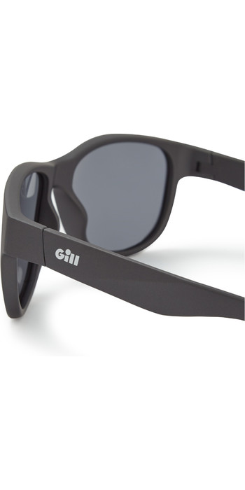 2021 Gill Coastal Sunglasses Black / Smoke 9670