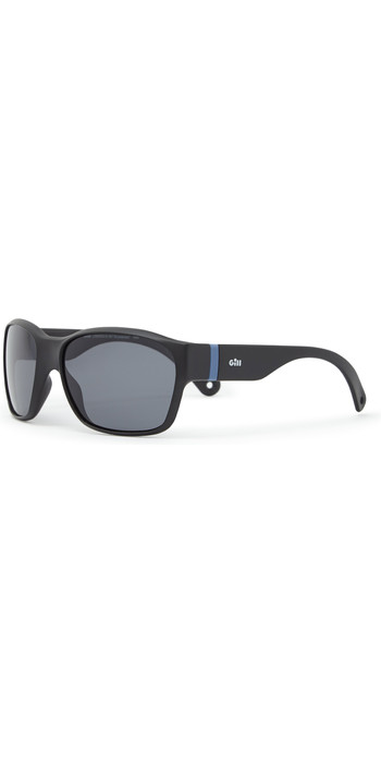 2021 Gill Junior Longrock Sunglasses Black / Smoke 9671