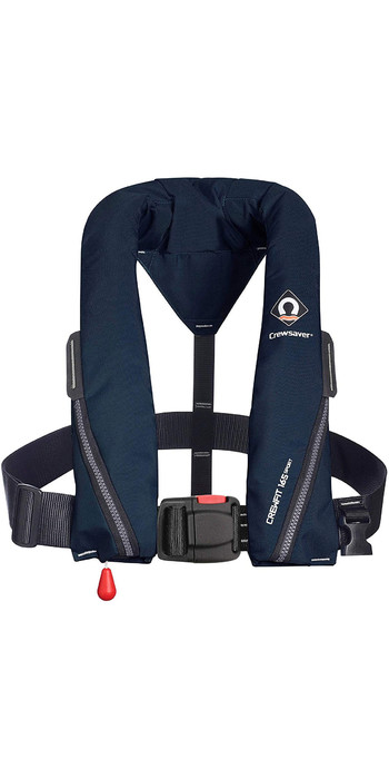 2021 Crewsaver Crewfit 165N Sport Automatic Lifejacket 9710NBA - Navy