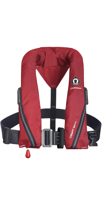 2021 Crewsaver Crewfit 165N Sport Manual Harness Lifejacket 9715RM - Red
