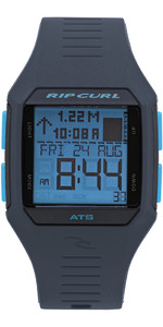 2019 Rip Curl Rifles Mid Tide Surf Watch Blue Ice A1124