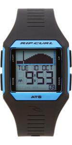 2019 Rip Curl Rifles Mid Tide Surf Watch Blue / Black A1124