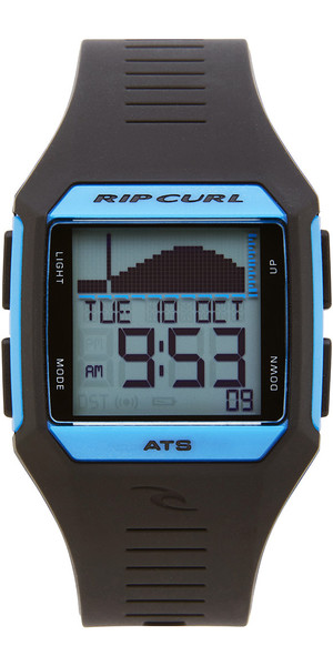 2018 Rip Curl Rifles Mid Tide Surf Watch Blue / Black A1124