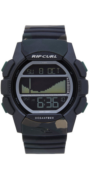 2018 Rip Curl Drifter Tide Watch Jungle Camo A1134