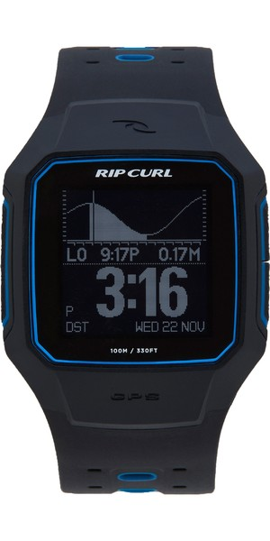 2019 Rip Curl Search GPS Series 2 Smart Surf Watch Blue A1144
