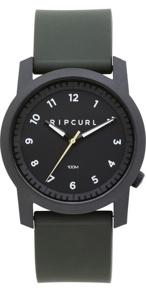 2018 Rip Curl Cambridge Silicone Watch Military Green A3088