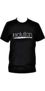Billabong Mens Solution Tee in BLACK A4AS02