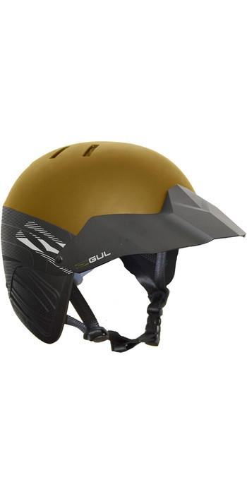 2021 Gul Elite Watersports Helmet Gold AC0127-B5