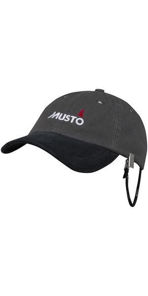 2018 Musto Evo Original Crew Cap Dark Grey AE0191