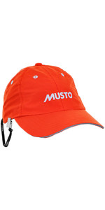 Musto Fast Dry Crew Cap in Fire Orange AL1390