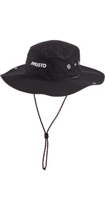 Musto Fast Dry Brimmed Hat in BLACK AL1410