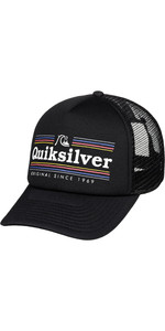 2019 Quiksilver Jetty Crocker Hat Black AQYHA04443