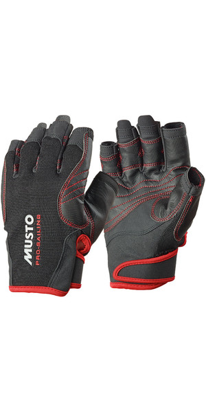 Musto Performance Short Finger Gloves BLACK AS0832