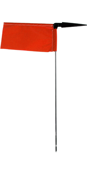 Allen Brothers Racing Burgee Single Red A.167