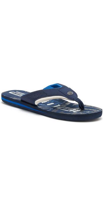 Animal Jekyl Logo Junior Boys Flip Flops FM8SN600 - Snorkel Blue