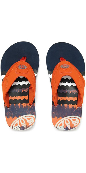 09b0622f912 2018 Animal Junior Boys Jekyl logo Flip Flops DARK NAVY FM8SN600 Animal