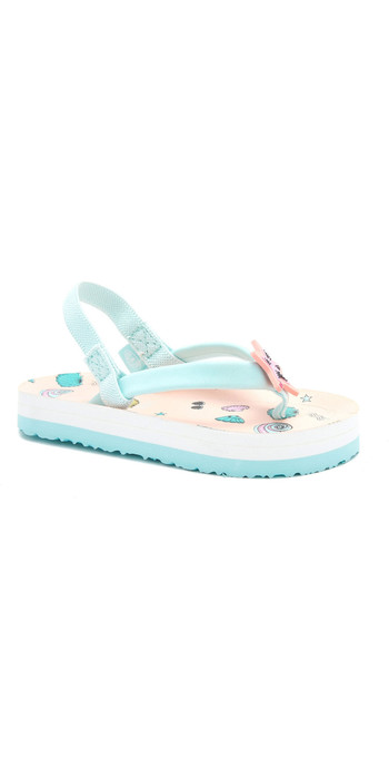 2020 Animal Toddler Girls Doodle Flip Flops / Sandals FM0SS806 - Apricot Blush Pink