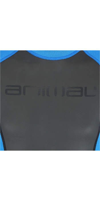 2020 Animal Junior Boys Nova 3/2mm Back Zip Shorty Wetsuit AW0SS603 - Black