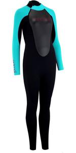 2020 Animal Junior Girls Nova 3/2mm Back Zip Wetsuit AW0SS800 - Black