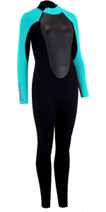 2020 Animal Junior Girls Nova 3/2mm Back Zip Wetsuit AW0SS800 - Black