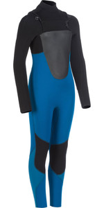 2020 Animal Junior Lava 4/3mm Chest Zip Wetsuit AW0SS600 - Marina Blue