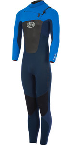 Animal Lava 5/4/3mm GBS Chest Zip Wetsuit Dark Navy AW7WL103