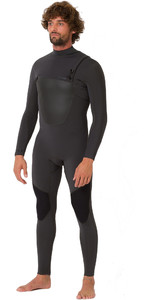 2019 Animal Mens ANML 3/2mm Zipperless Wetsuit Graphite Grey AW9SQ001