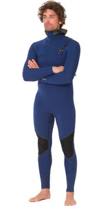 2019 Animal Mens Assassin V2 6/4mm Hooded GBS Chest Zip Wetsuit Navy AW9WQ002