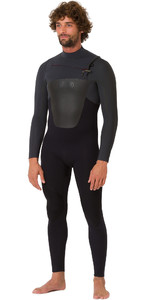 2019 Animal Mens Lava 5/4/3mm GBS Chest Zip Wetsuit Black AW9SQ002