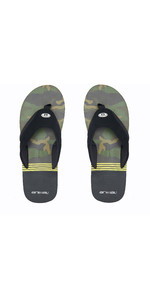 2020 Animal Mens Slyde Slider Sandals FM0SS008 - Black