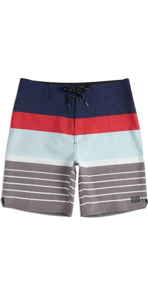 2019 Animal Mens Tarley Board Shorts Stripes CL9SQ009