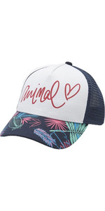 2019 Animal Womens Sunnyside Mesh Back Trucker Cap Patriot Blue BC9SQ802