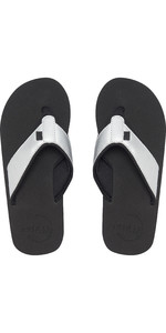 2019 Animal Womens Swish Upper Flip Flops Filanium Grey FM9SQ308