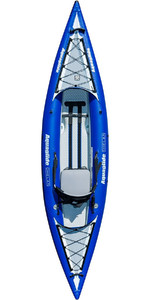 2019 Aquaglide Chelan HB ONE 1 Man High Pressure Inflatable Kayak Blue - Kayak Only AGCHE1