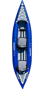 2019 Aquaglide Chelan HB TWO 1-2 Man High Pressure Inflatable Kayak Blue - Kayak Only AGCHE2