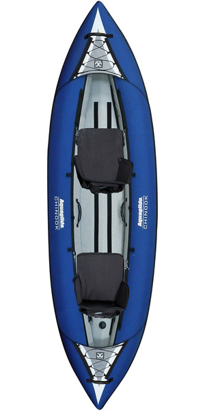 2018 Aquaglide Chinook 2 Man Kayak BLUE - Kayak Only