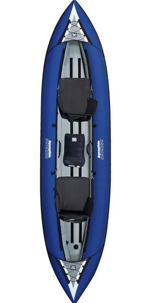 2019 Aquaglide Chinook Tandem 3 Man Kayak BLUE - Kayak only
