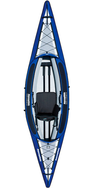 2018 Aquaglide Columbia 1 Man Touring Kayak Blue - Kayak Only