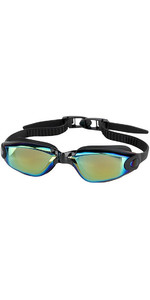 2019 Aropec Galileo Swimming Goggles Mirror Black GAPY7900M