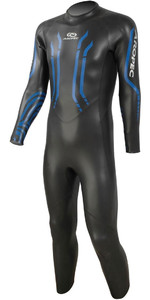 2019 Aropec Mens Cheetah 5/3m Triathlon Back Zip Wetsuit Black DS3T507M