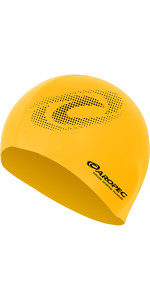 2019 Aropec Silicone Swim Cap Yellow CAPGR1