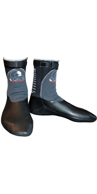 2018 Atan Hot Mistral 6mm Gbs Wetsuit Boots Black Picture