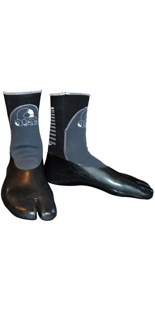 2018 Atan Madisson 3mm Gbs Split Toe Wetsuit Boots Black Picture