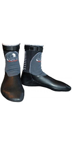 2019 Atan Mistral 3mm GBS Round Toe Wetsuit Boots Black