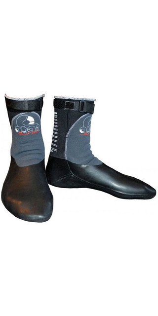 2018 Atan Mistral 3mm Gbs Round Toe Wetsuit Boots Black Picture