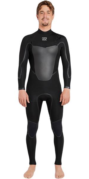 2018 Billabong Absolute X 5/4mm Chest Zip Steamer Wetsuit BLACK F45M20