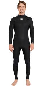 2018 Billabong Absolute Comp 4/3mm Chest Zip Wetsuit BLACK F44M21